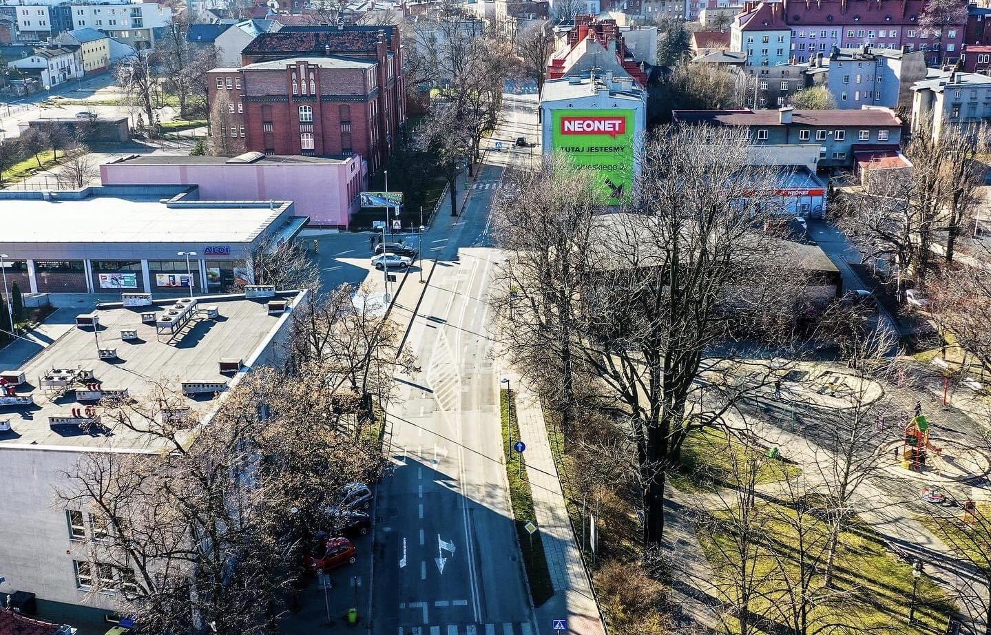 Przebudowa ulicy Sobieskiego Tarnowskie Góry