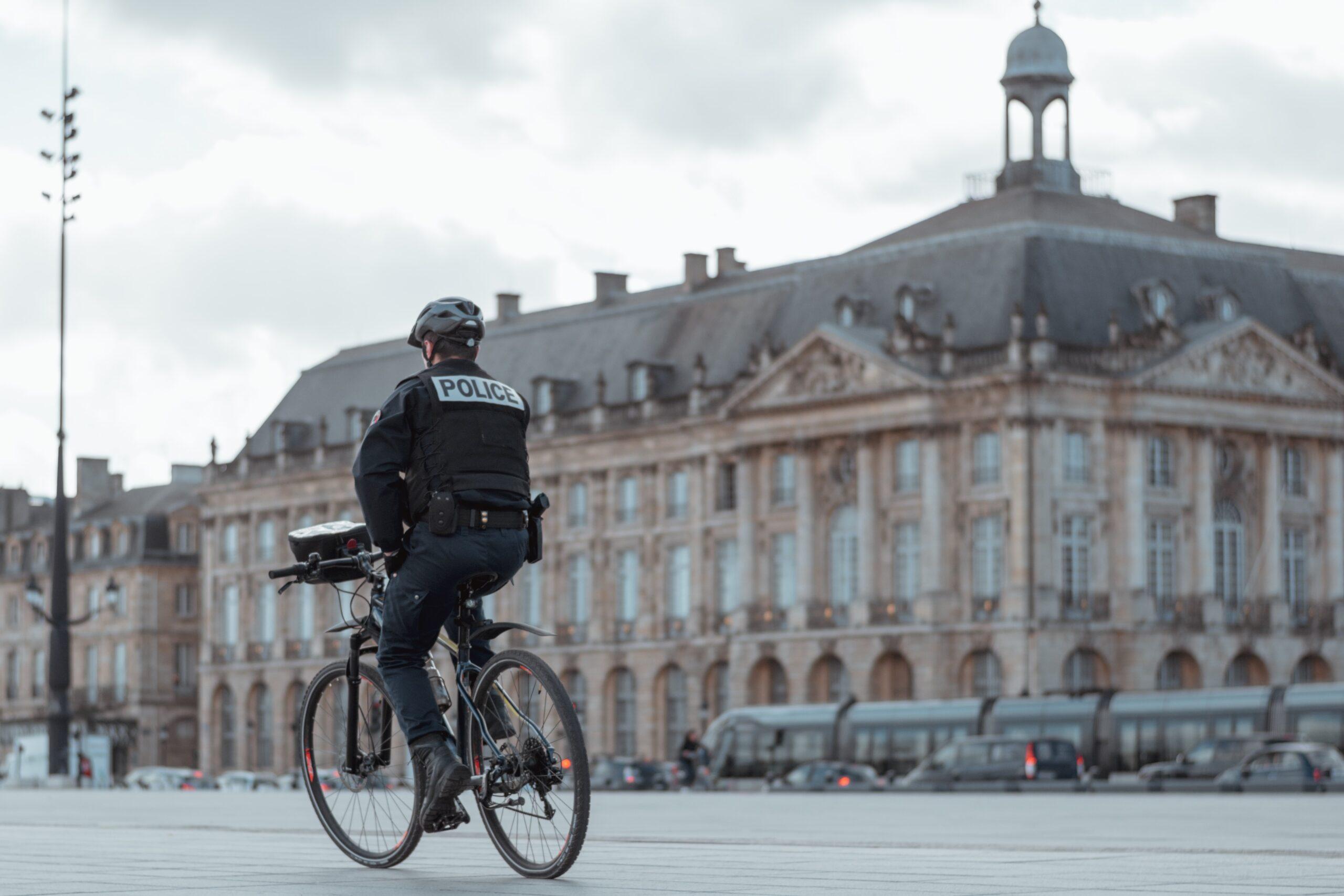 Rowerowe patrole policyjne pojechały na Katowice