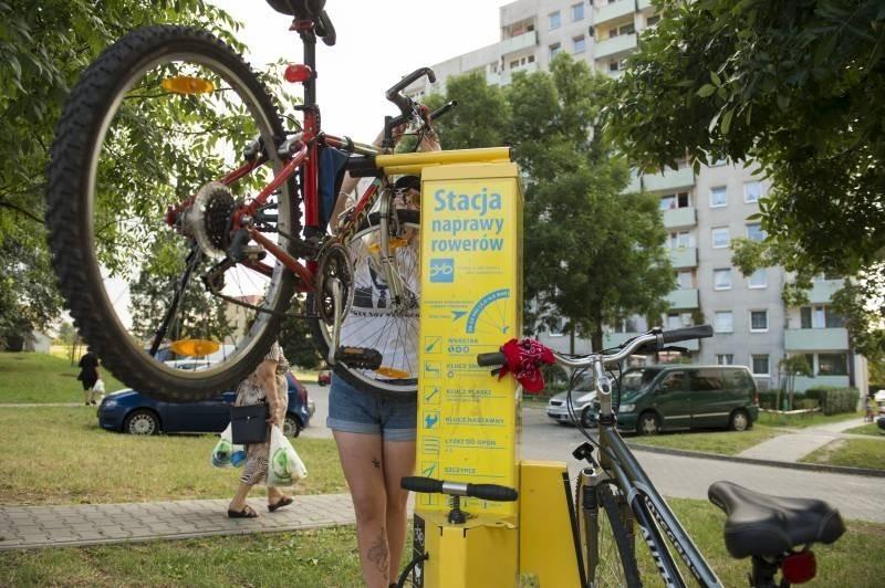 10 stacji napraw rowerowych w Tychach zostało zniszczonych
