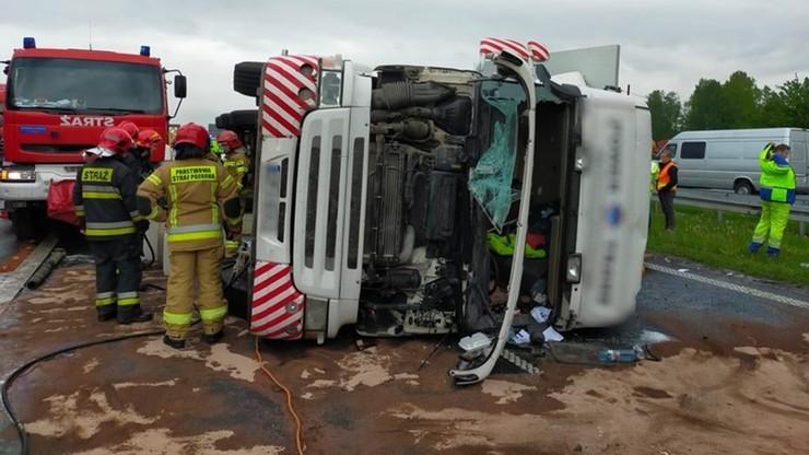 Wypadek autostrada A4