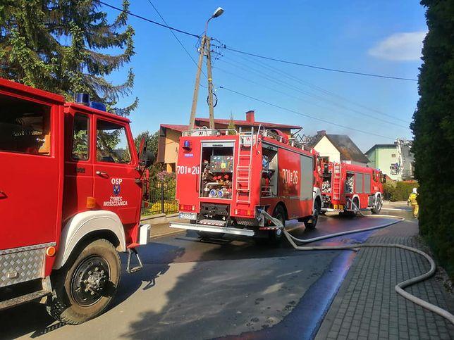 Pożary zakończone tragedią. 2 osoby nie żyją.