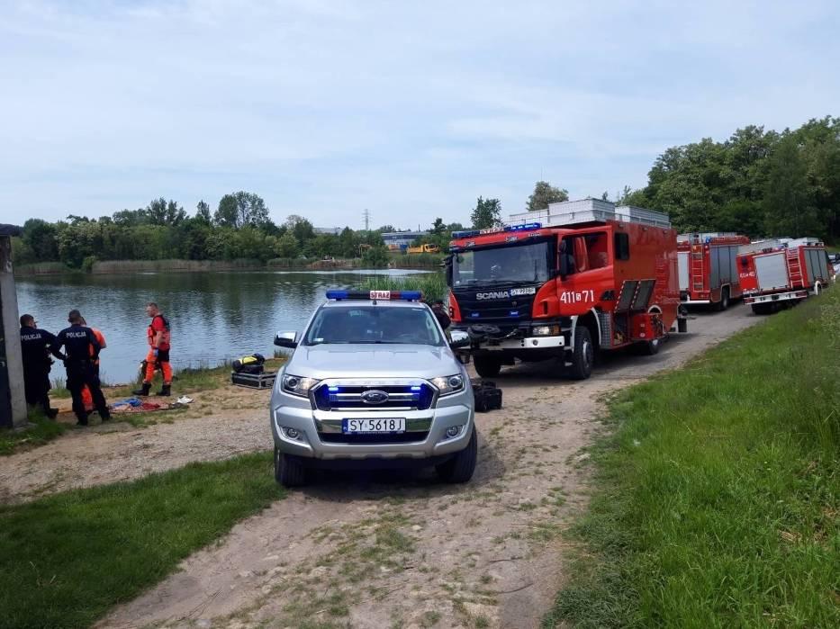 Bytom: Utonął mężczyzna w stawie przy ul. Kędzierzyńskiej.