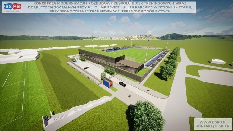 Nowy obiekt treningowy dla Polonii Bytom. Jest umowa na budowę
