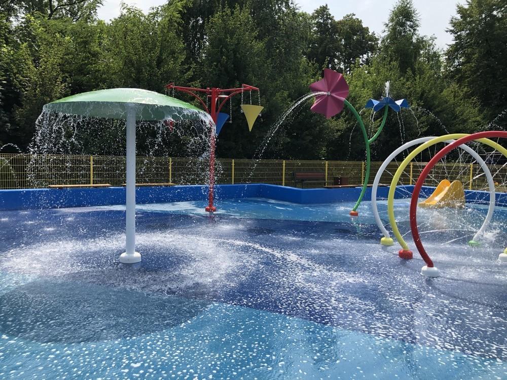 wodny plac zabaw w Bytomiu