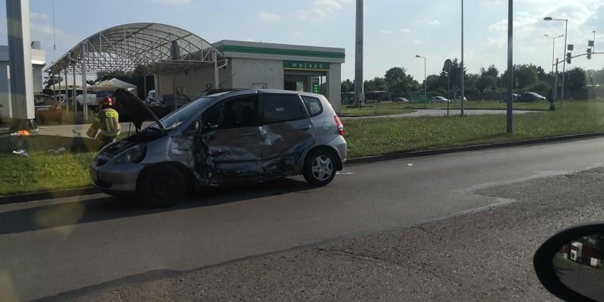 Bytom: Stłuczka dwóch samochodów.