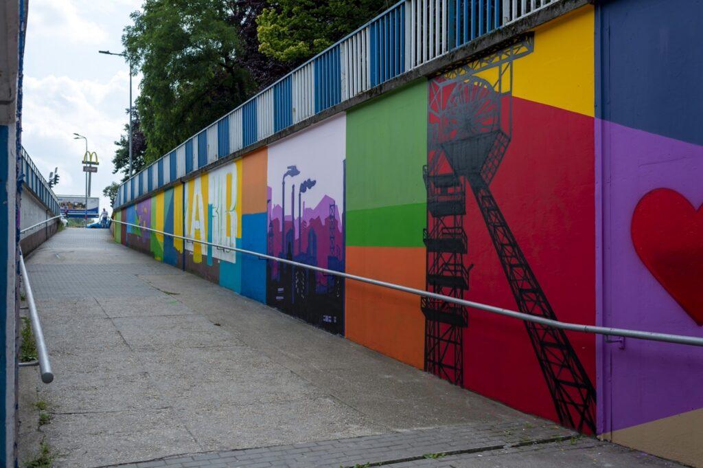 PodZiemie w Bytomiu - Karbiu Mural