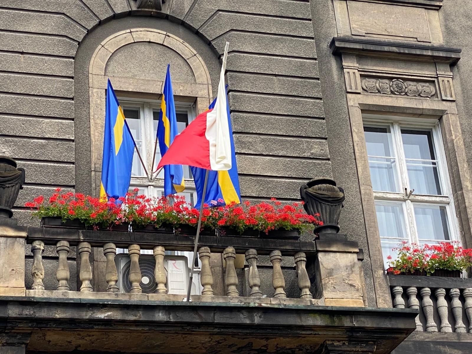 Urząd Miasta w Bytomiu uczcił Dzień Śląskiej Flagi