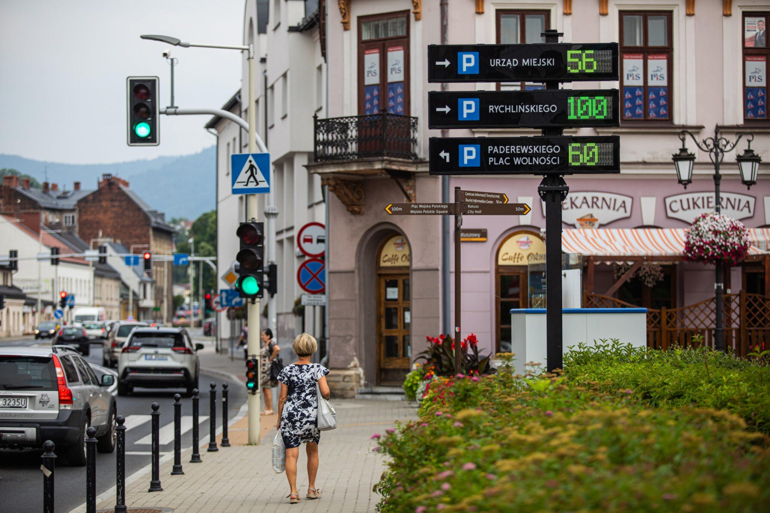 parking w Bielsku-Białej
