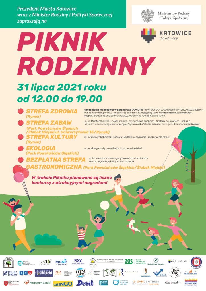 Piknik Rodzinny Katowice - informacje