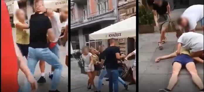 Katowice: Mężczyzna dotkliwie pobił kobietę.