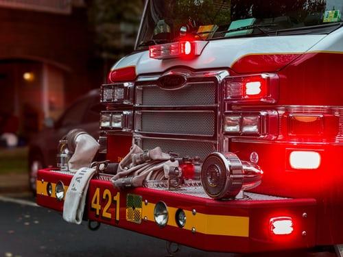 Pożar w Szpitalu Specjalistycznym nr 1